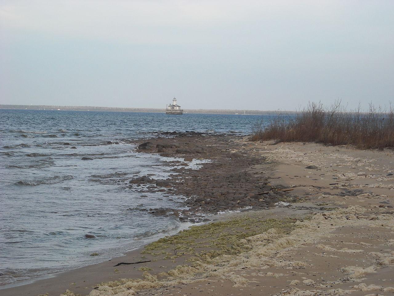 Famous Beach of Michigan-Cheboygan State Park Beach