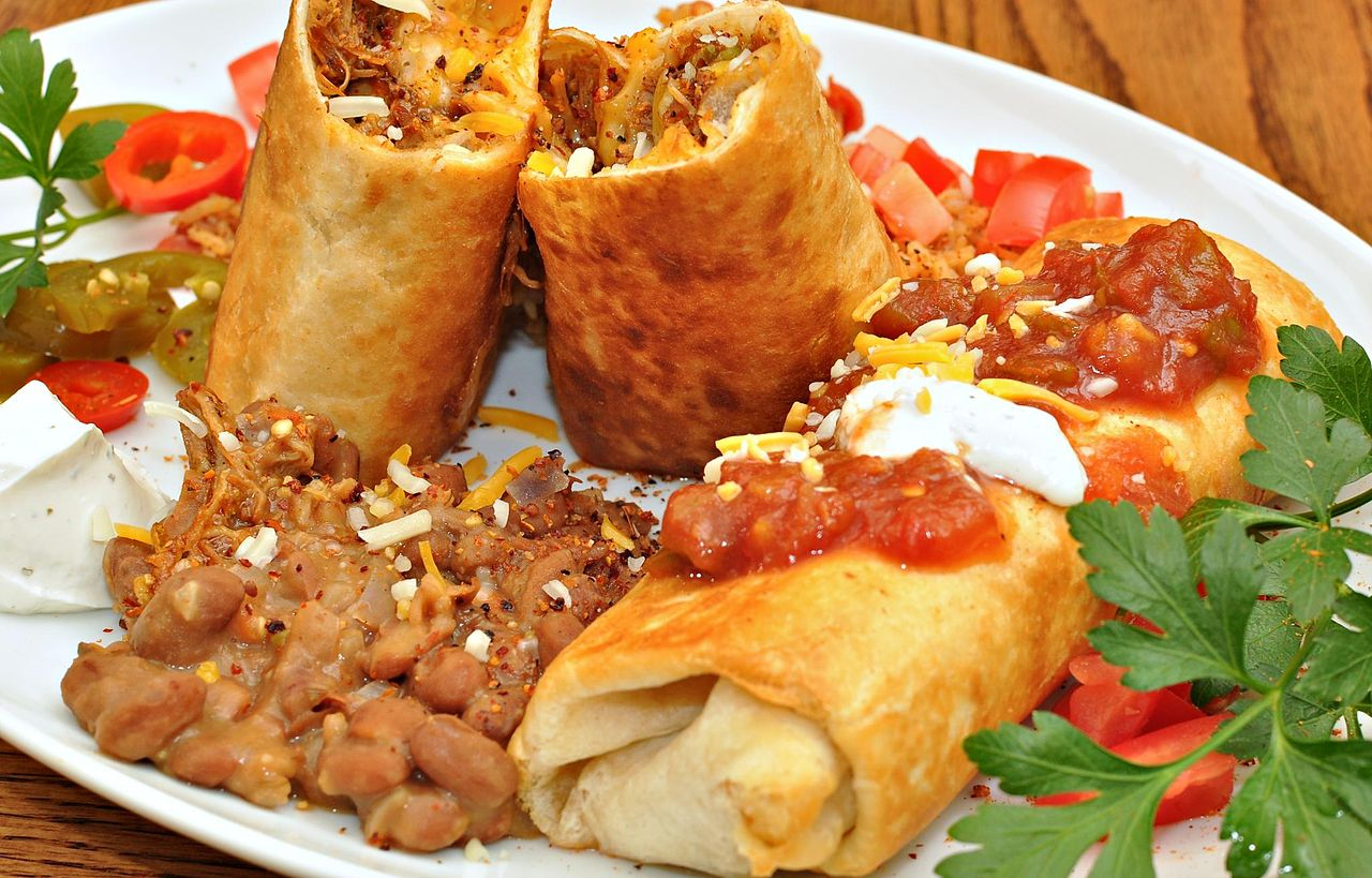 Chimichangas - Top Dish To Try In Arizona