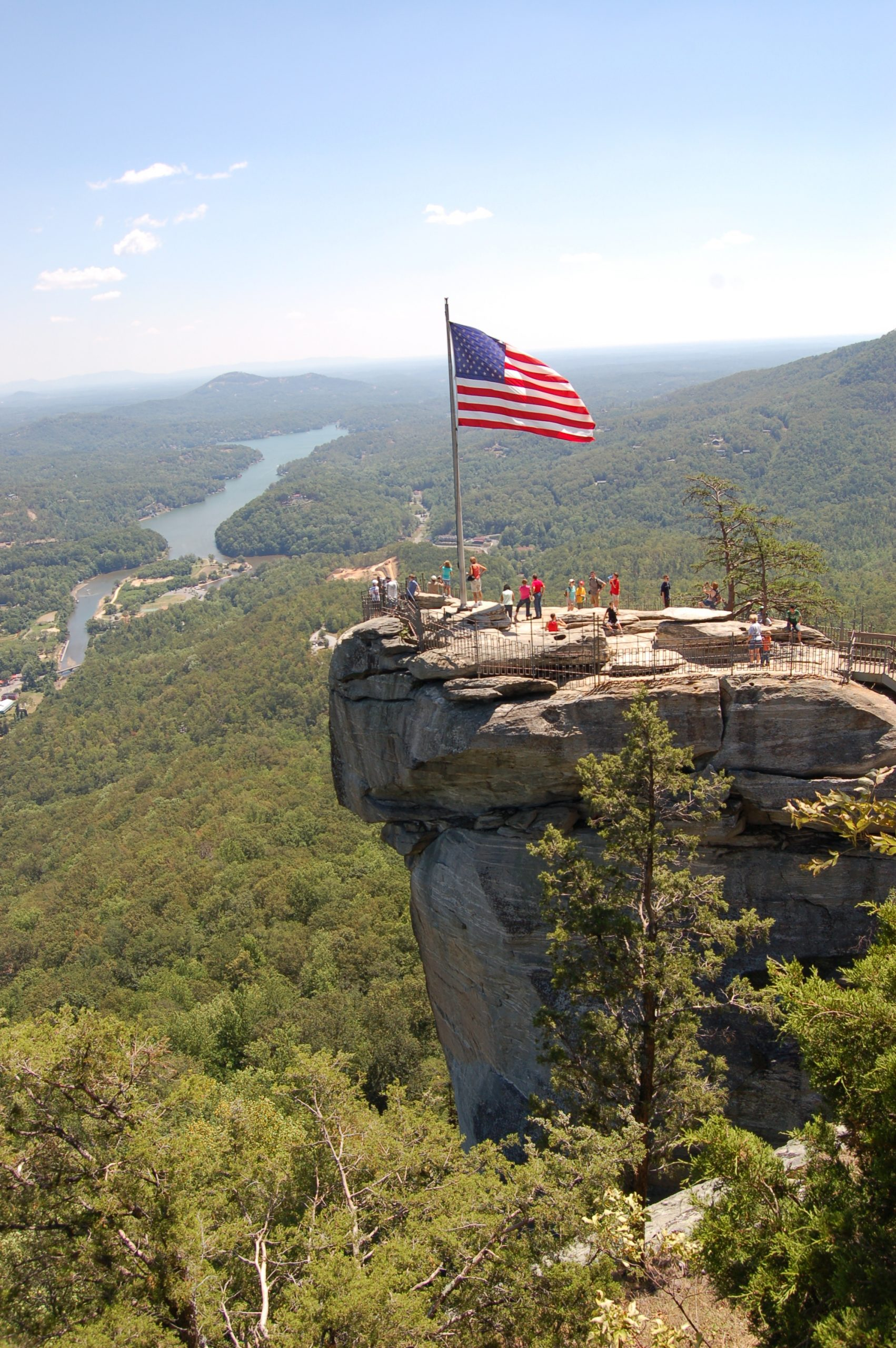 Amazing Place to Visit In North Carolina-Chimney Rock State Park