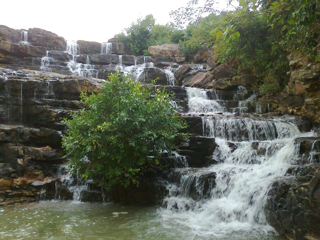 Waterfalls in Chhattisgarh-Chitradhara Waterfalls