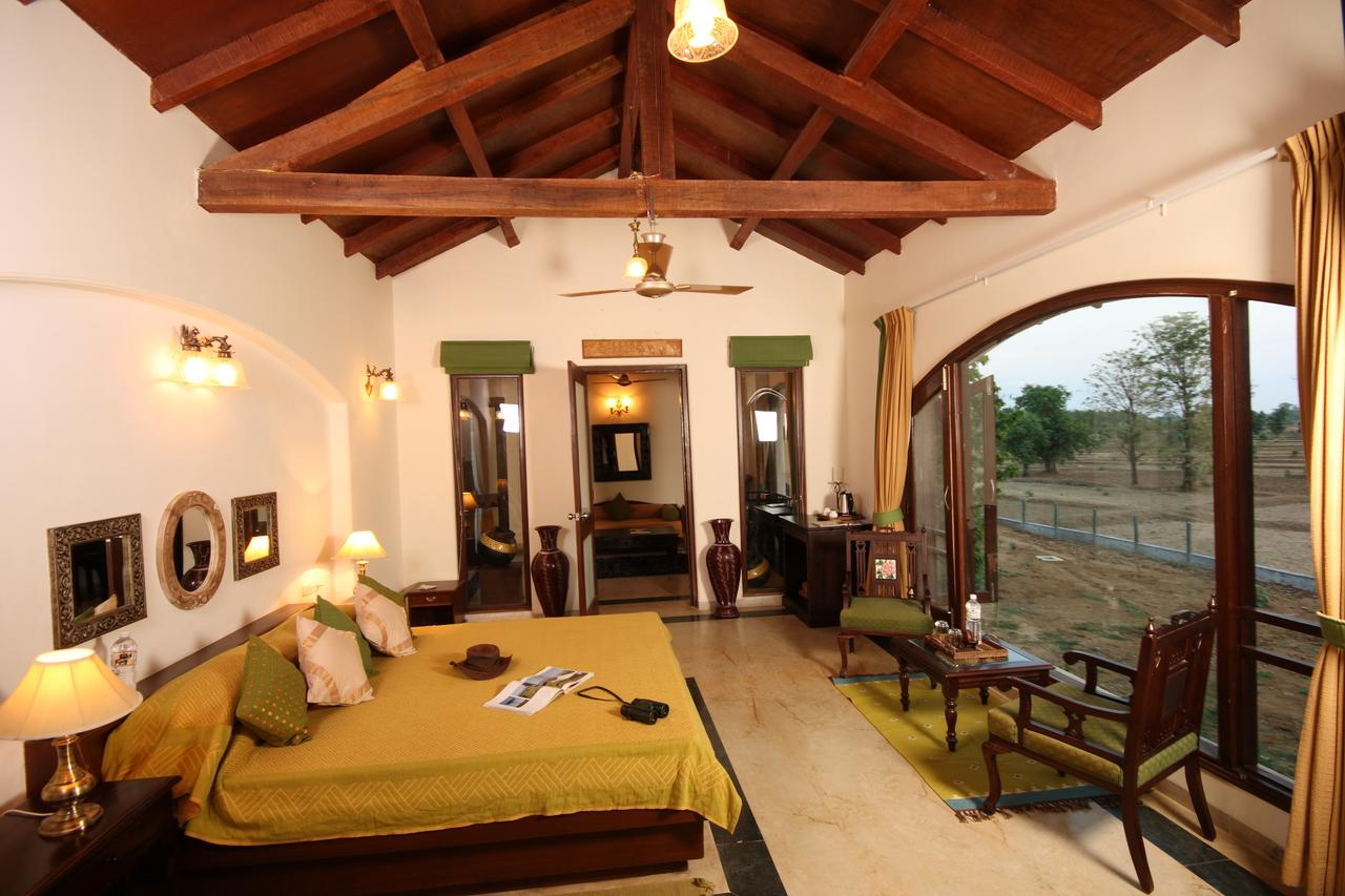 Amazing Hotel To Stay In Kanha Forest-Chitvan Jungle Lodge
