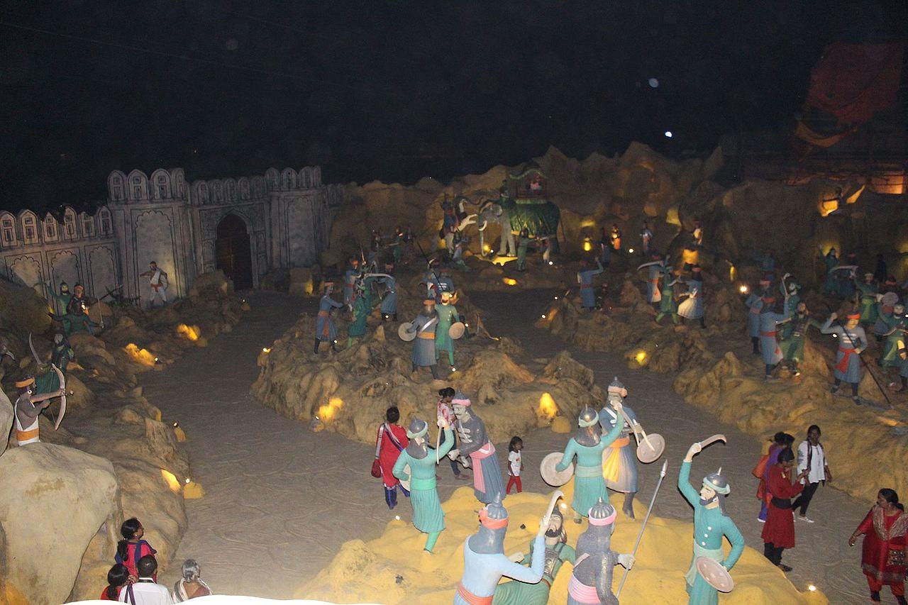 Famous Destination to Visit in Jaipur-Chokhi Dhani