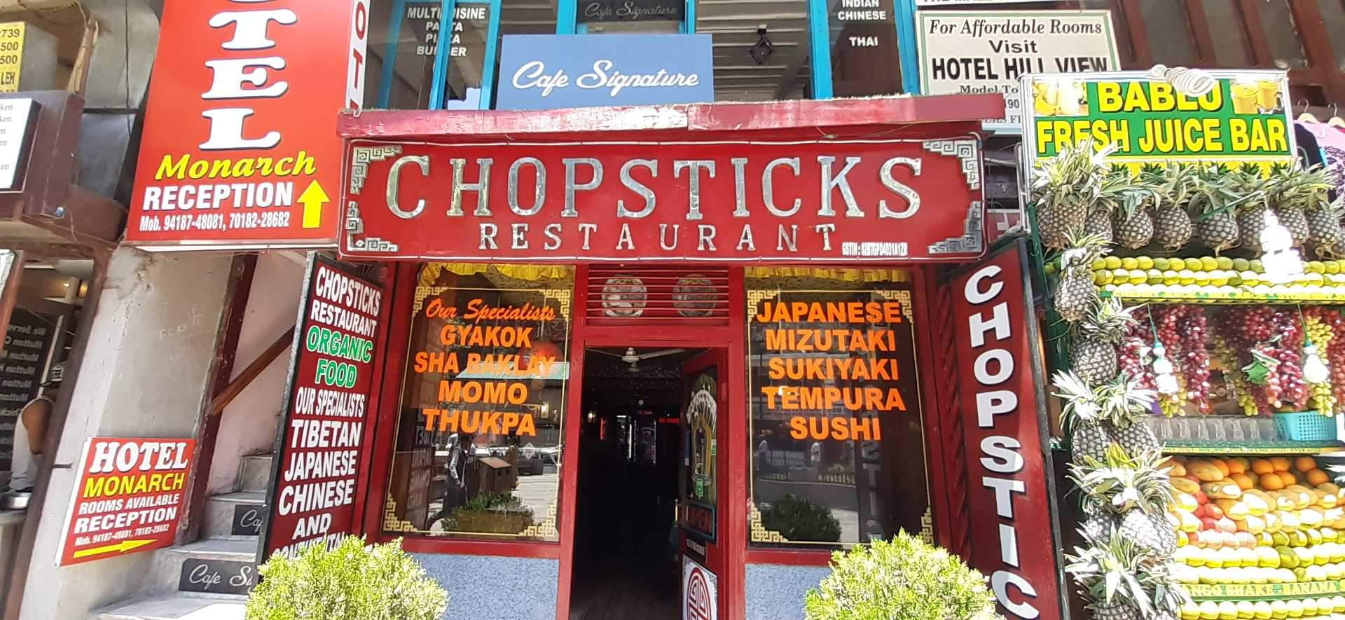 Chopsticks - Top Restaurant to Try When in Manali
