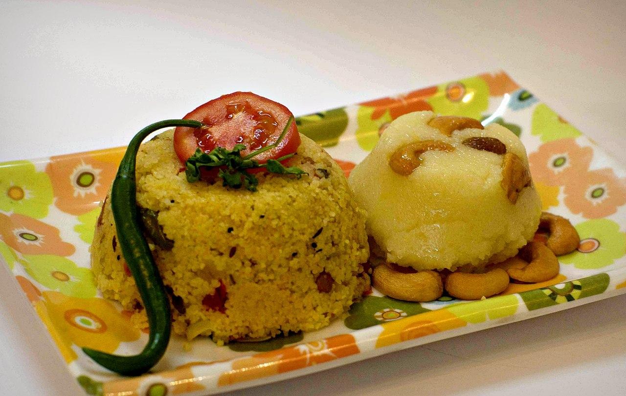 Best Karnataka Dish To Try-Chow Chow Bath