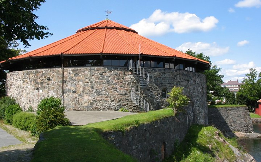Christiansholm Fortress Rotunda - Amazing Place to Visit in Kristiansand, Norway