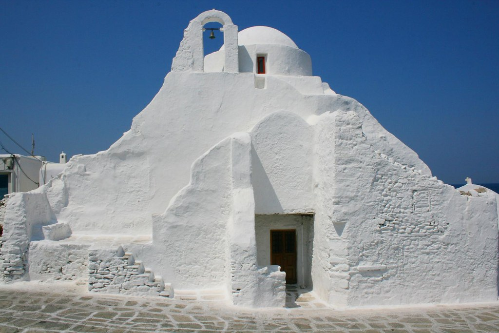 Amazing Place To See in Mykonos Island, Greece-Church of Panagia Paraportiani