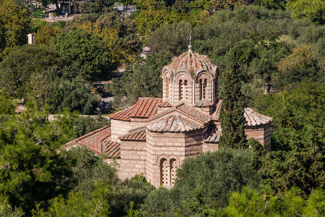 Church of the Holy Apostles - Popular Sight-Seeing Destinations in Athens, Greece.