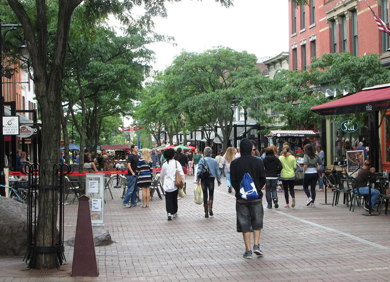 Nice Place to Visit In Vermont-Church Street Marketplace