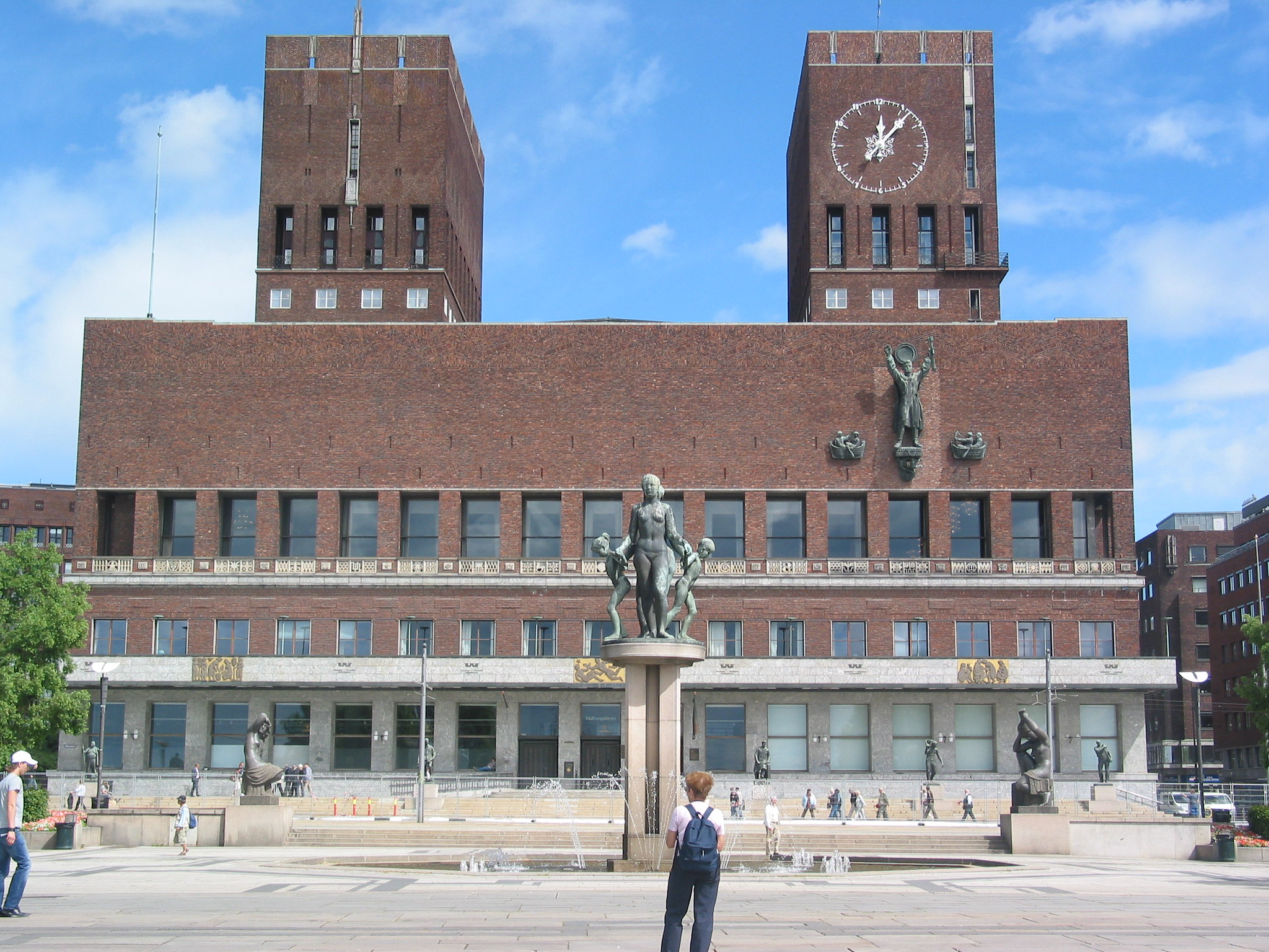City Hall (Rådhuset): Municipal Building Of The City Of Oslo