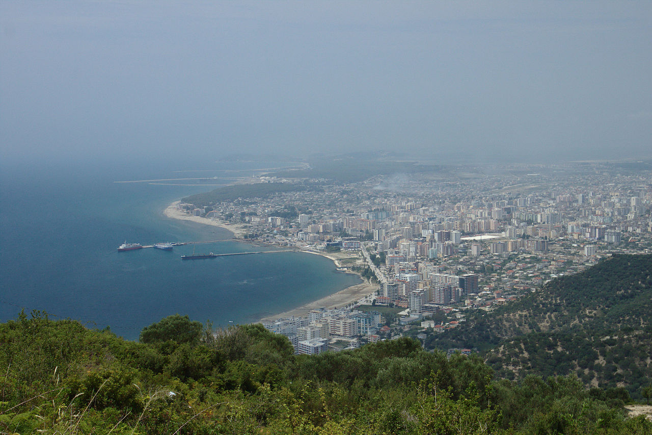 City of Vlore in Albania
