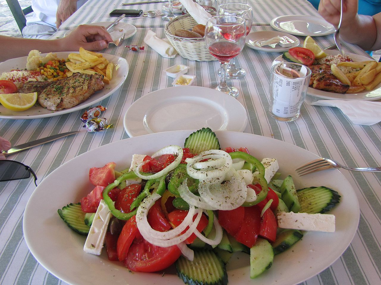 What is the Classic Greek Breakfast?