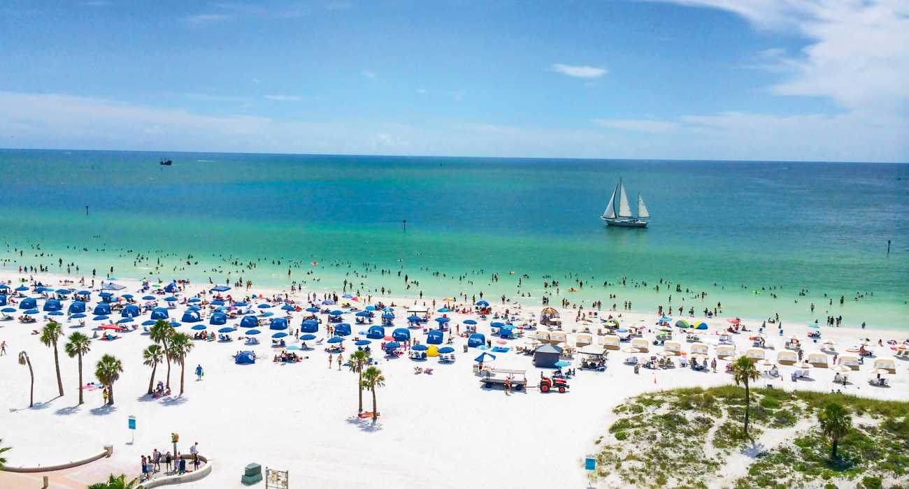 ClearWater - Best Places To Visit In Florida Besides Orlando