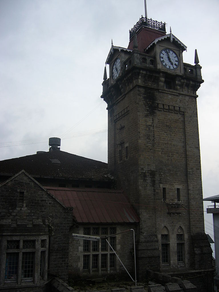 Best Heritage Destination in West Bengal-Clock Tower, Darjeeling