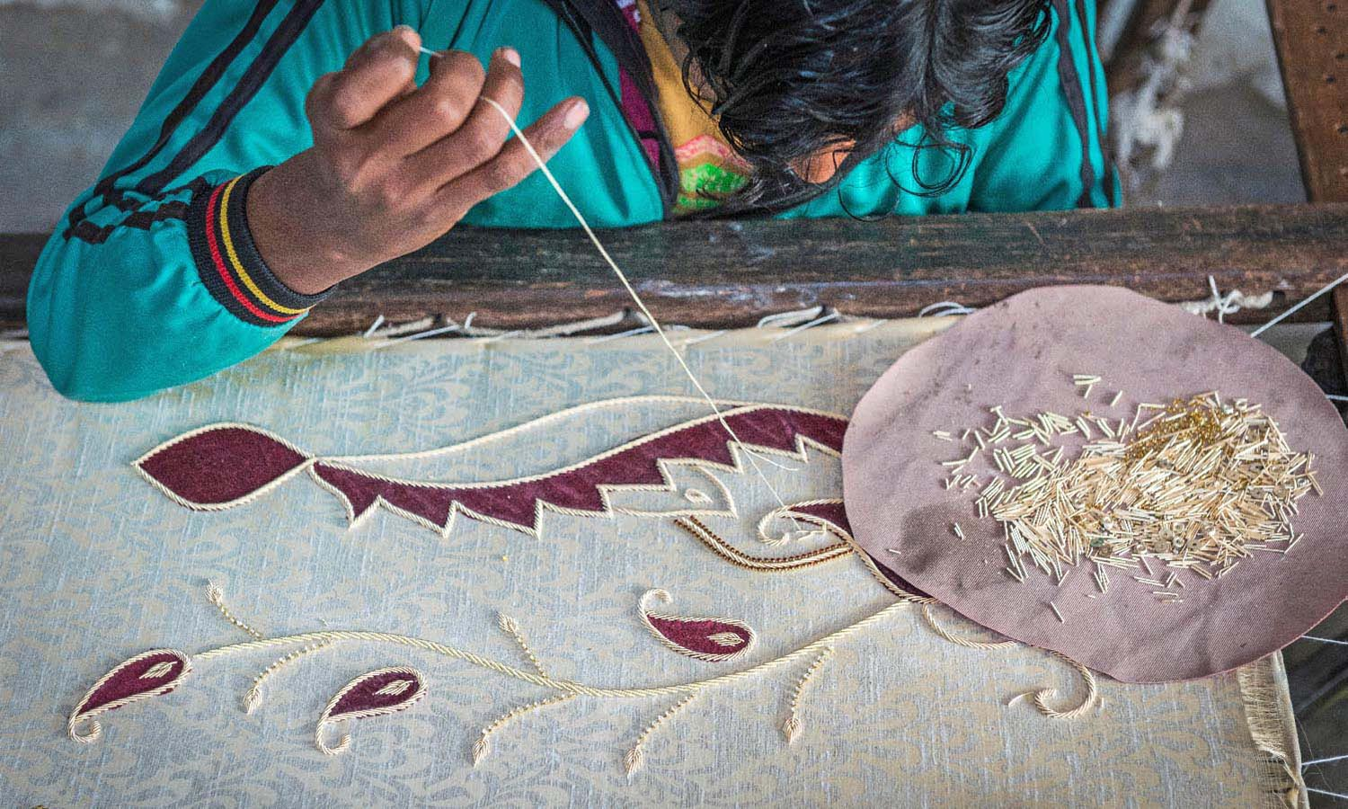 Pondicherry Shopping-Cluny Embroidery Center