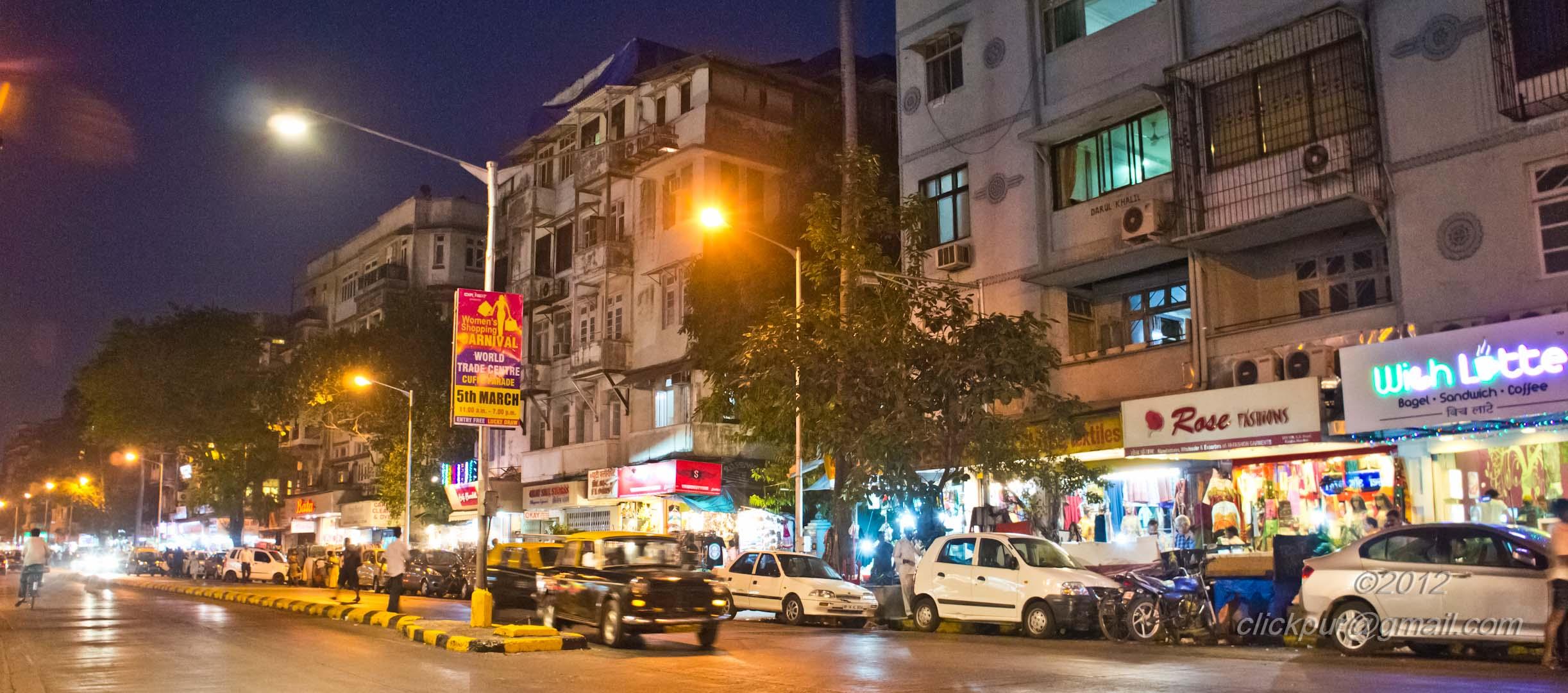 Colaba Causeway Visit Places in Mumbai