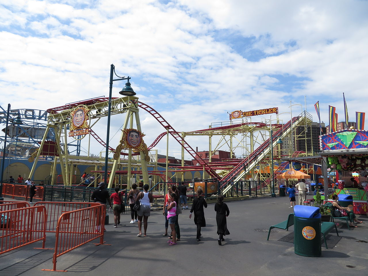 Fun Place For Kids Visit In The USA-Coney Island, New York City