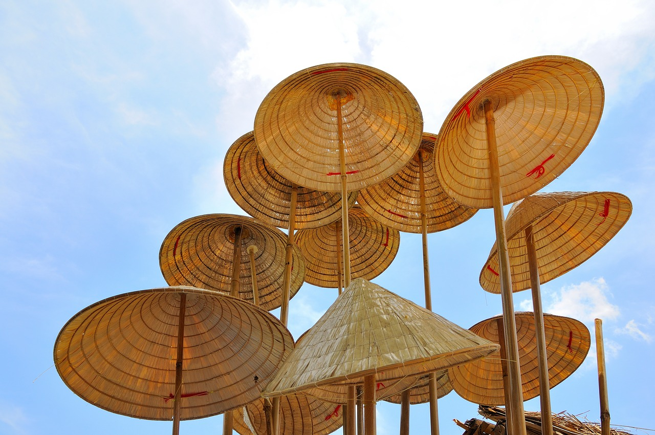 Conical Hat That Tourists Can Buy In Vietnam