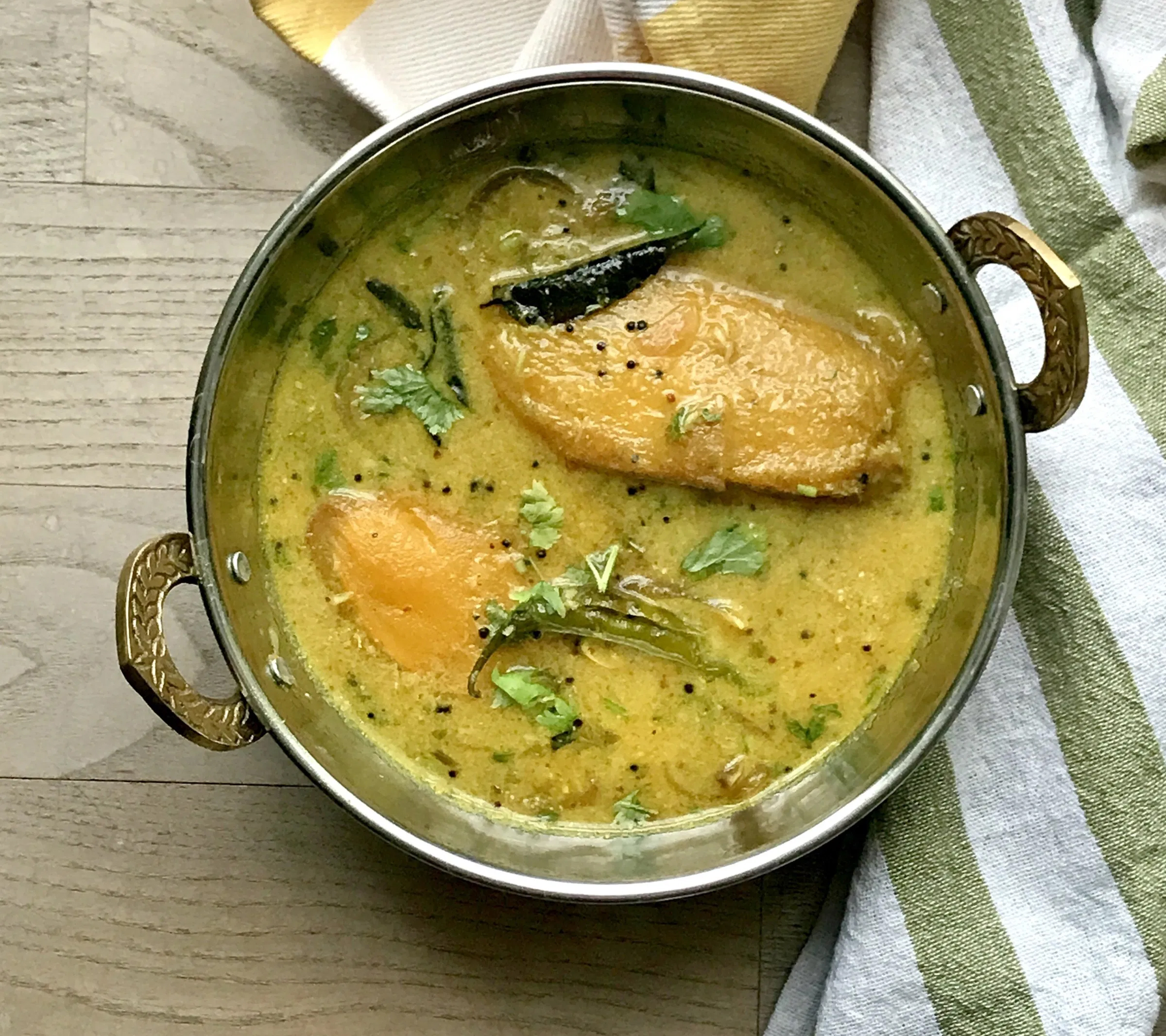 Coorg Style Kaad Manga Curry Or Sweet And Spicy Mango Curry - Best Coorgi Dishes To Try When In Coorg