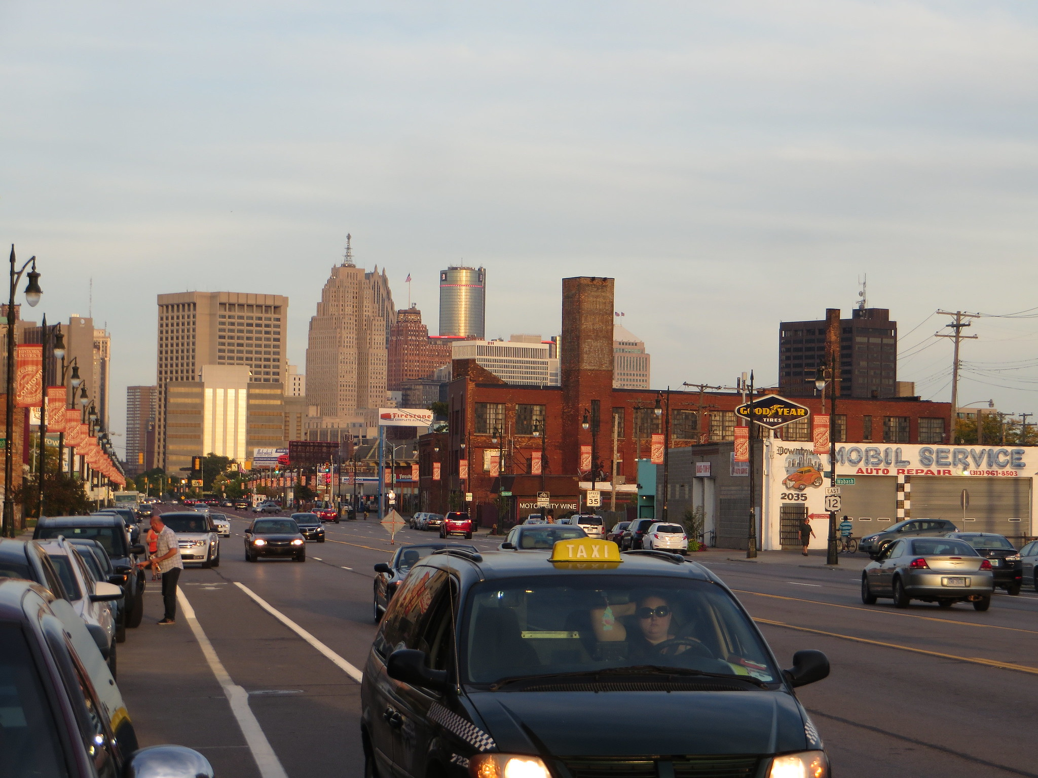 Nice Area to Stay in Detroit-Corktown