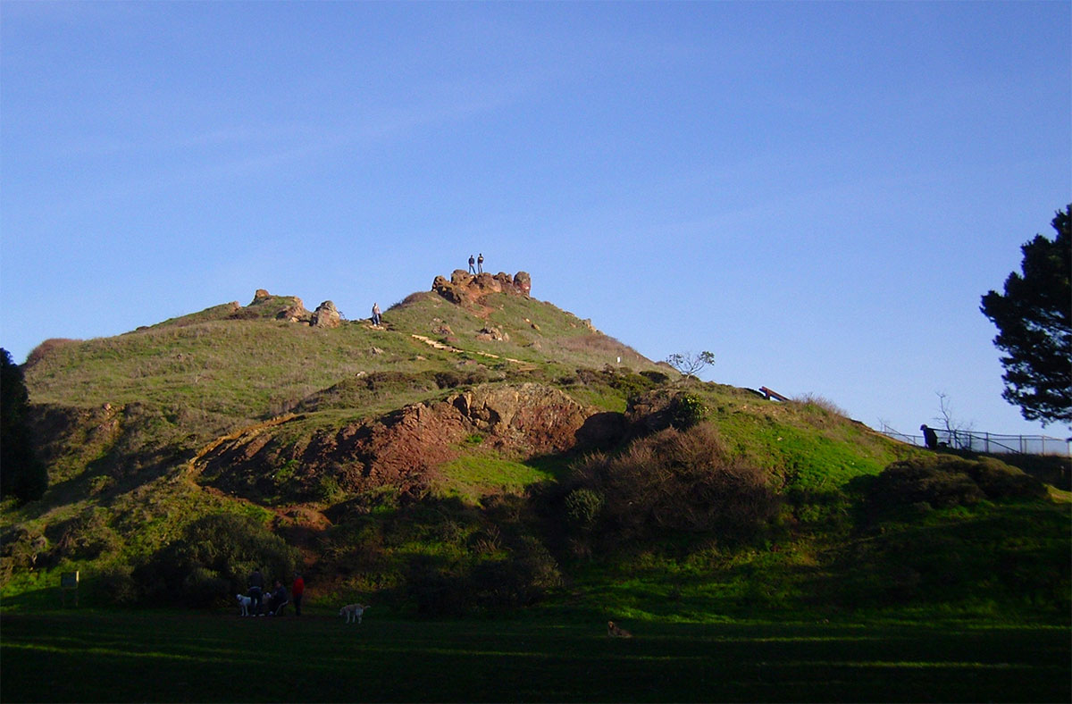 Corona Heights Park - Beautiful Hidden Place Near San Francisco