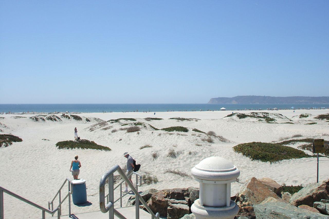 Top Beach in California-Coronado Beach