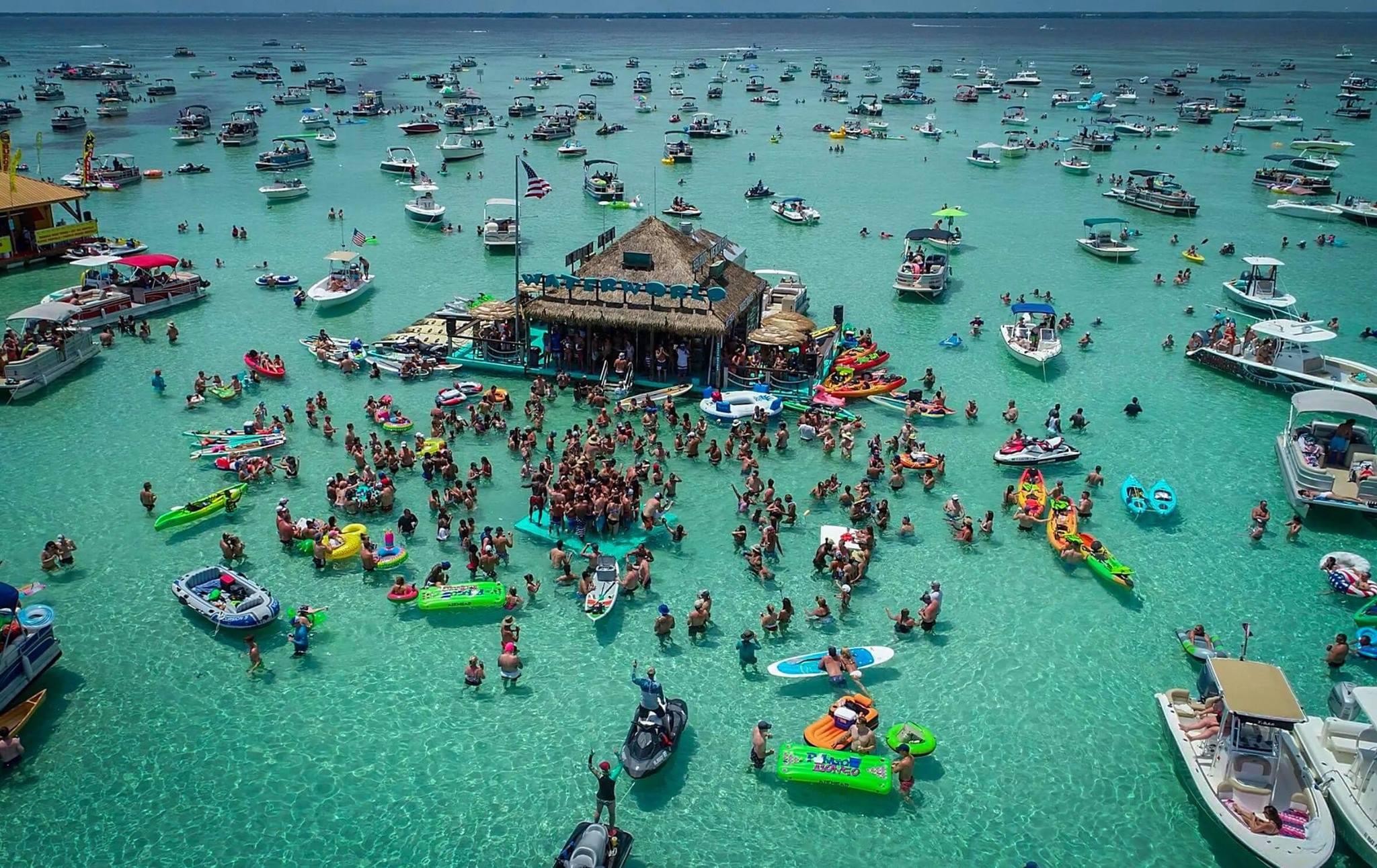 Best Place to Destination in Destin, FL-Crab Island