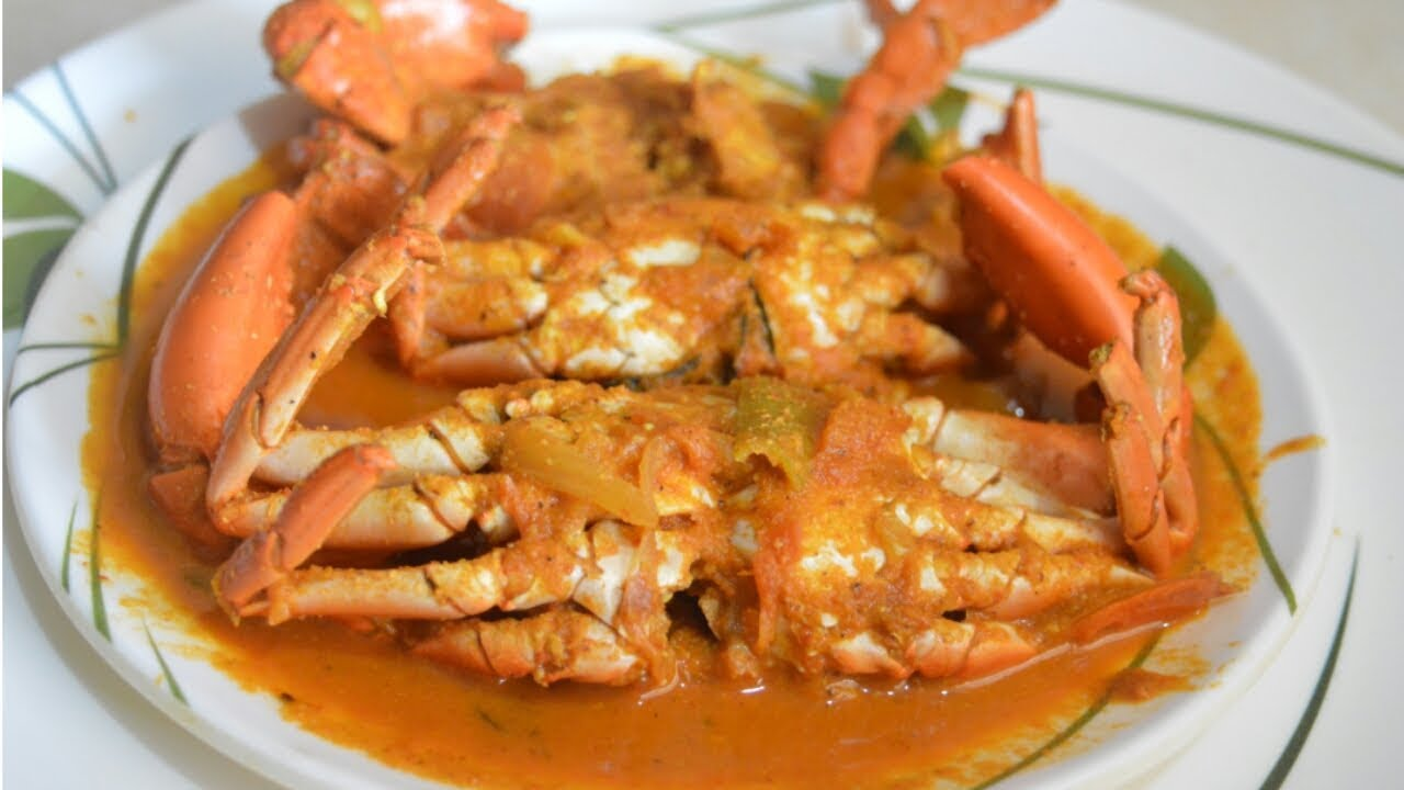 Crab Masala Fry - Must-Try Dishe in Puducherry