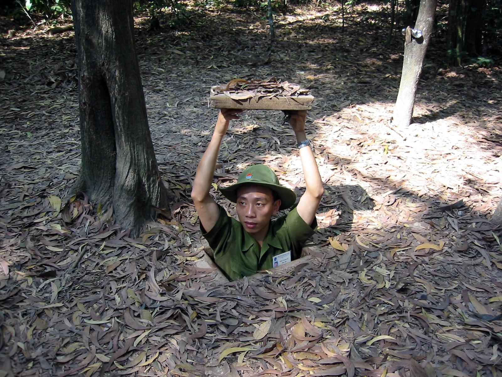 Crawl Through Secret Tunnels In Vietnam