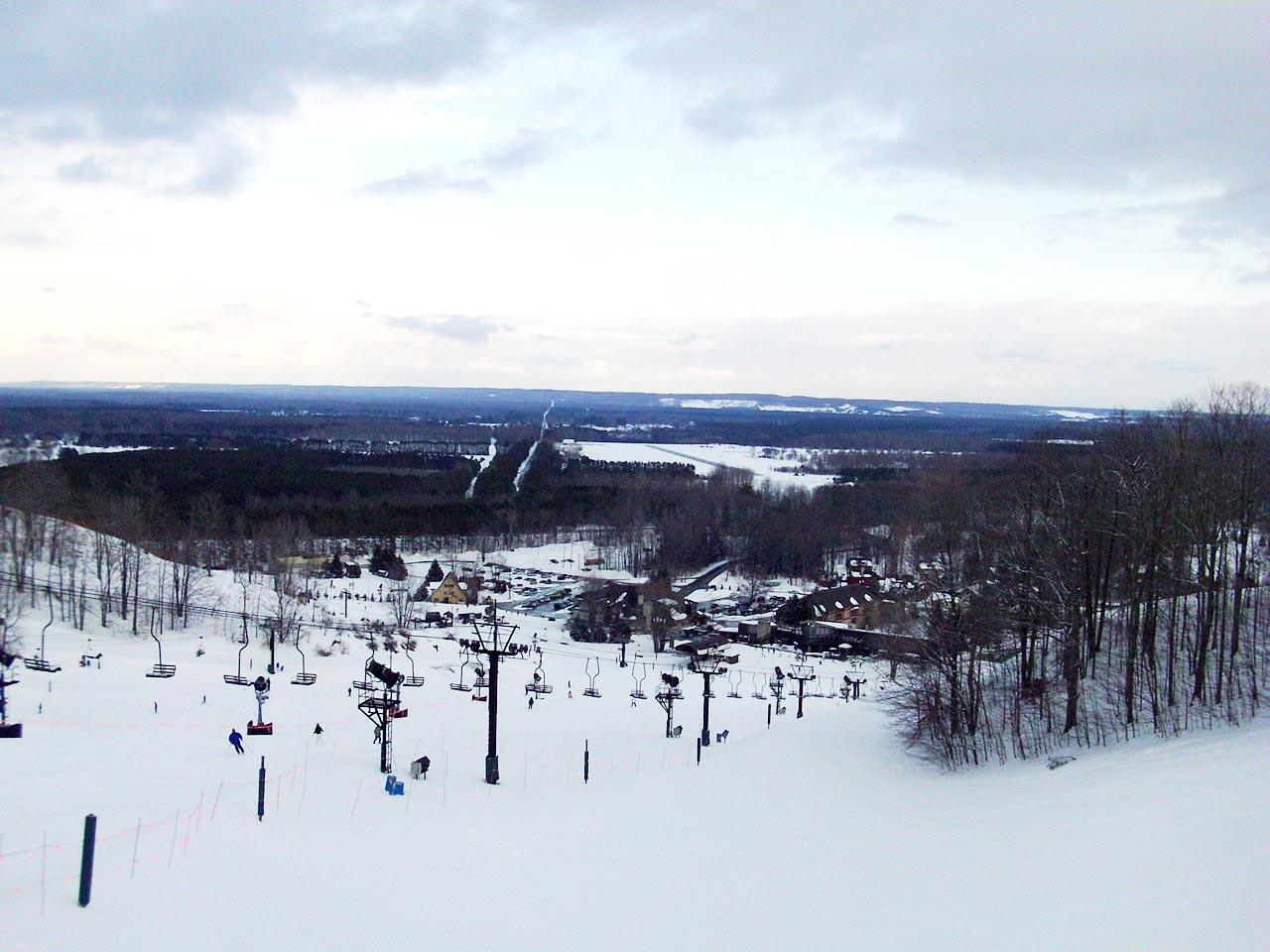 Crystal Mountain - Amazing Ski Resort in Michigan