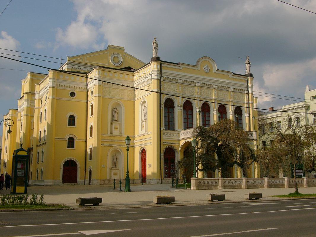 Top Place to Visit In Debrecen-Csokonai Theatre