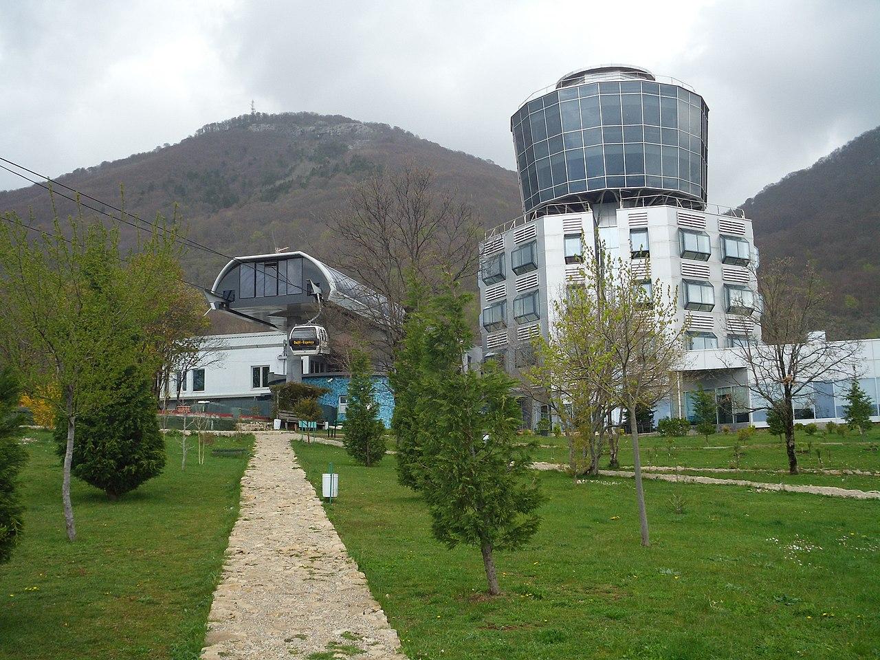 Nice Place To See At City Of Tirana-Dajti Ekspres
