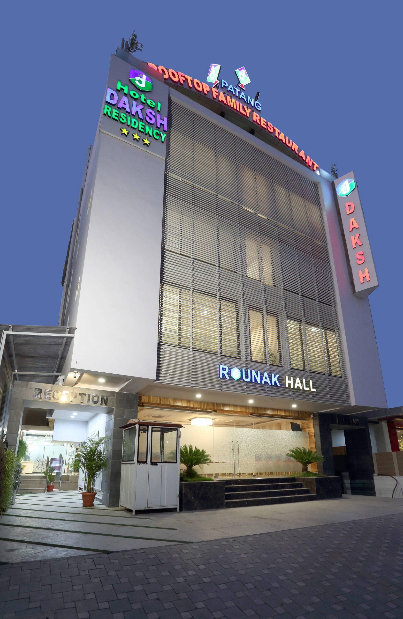 Top Budget Hotel in Indore-Daksh Residency