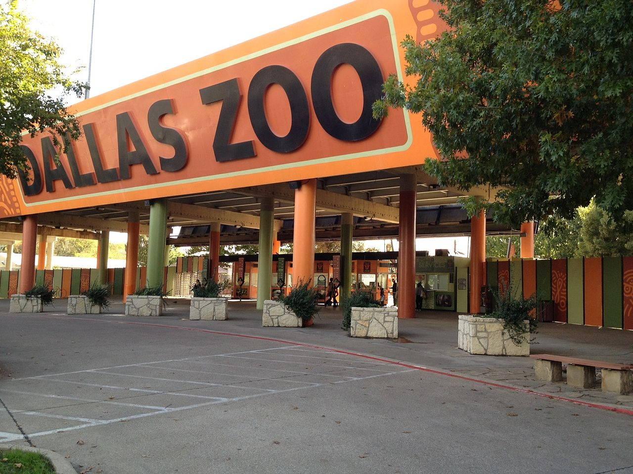 Nice Place to Visit In Dallas City-Dallas Zoo