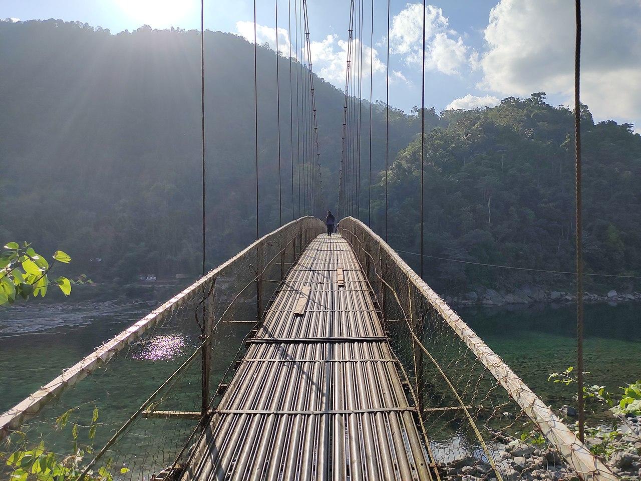 Must Visit Place In Cherrapunji-Dawki, Spectacular British-era Suspension Bridge