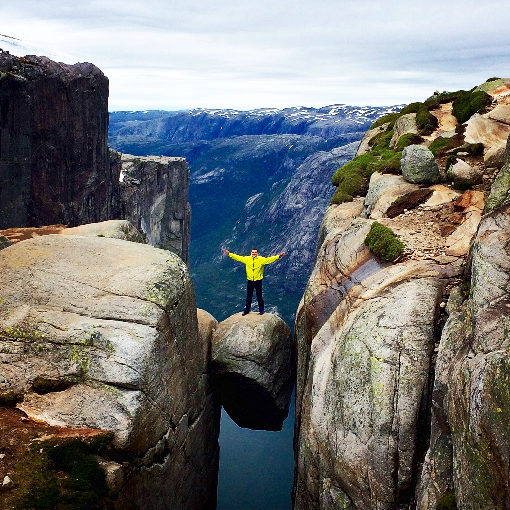 Defy Gravity at Kjeragbolten - Must Visit Place In Stavanger Region, Norway