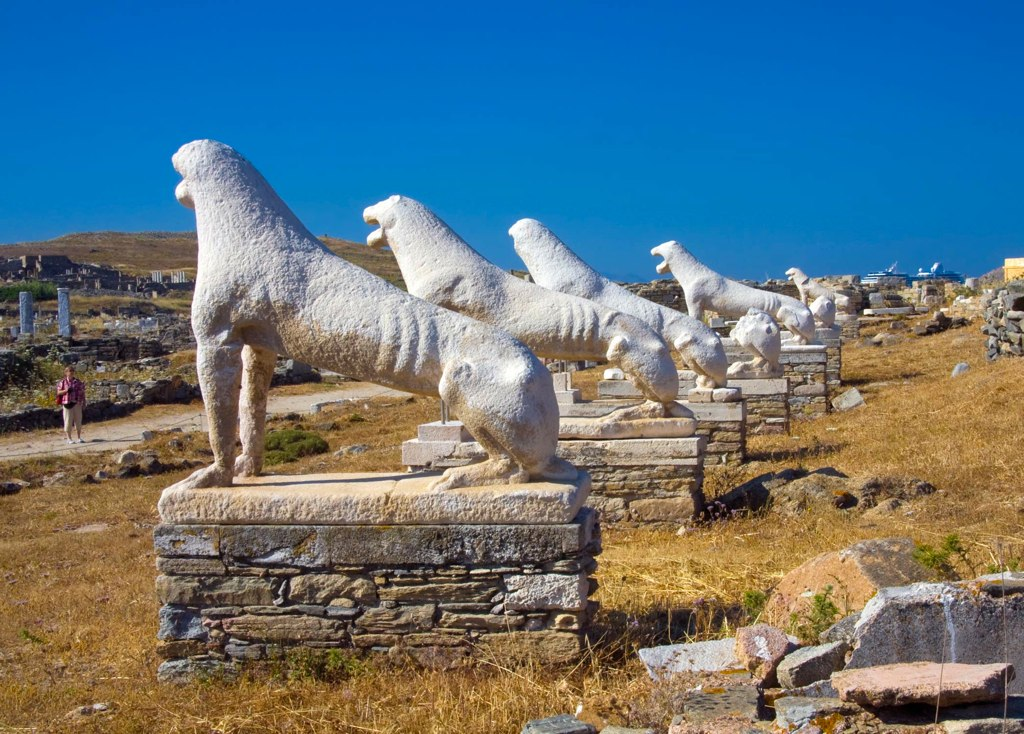 Best Place To See At The Mykonos Island in Greece-Delos