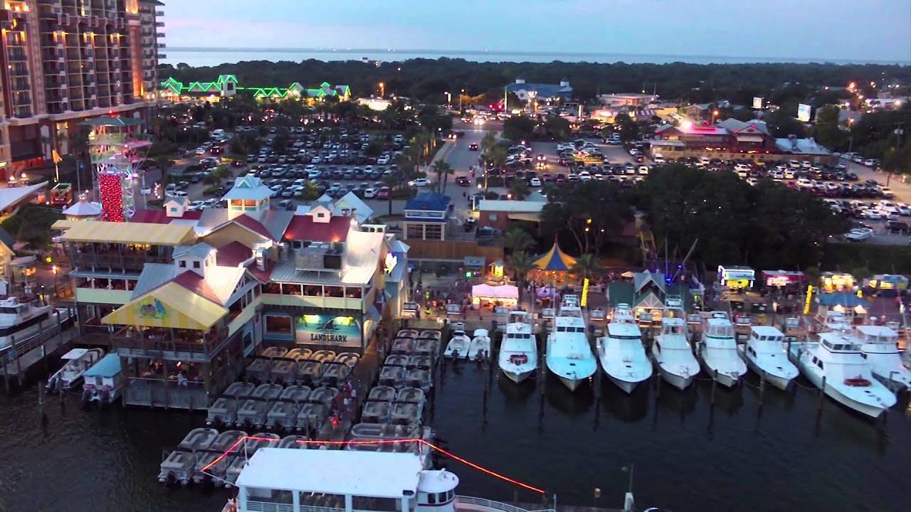 Best Sight-Seeing Destination in Destin, FL-Destin Harbor Boardwalk