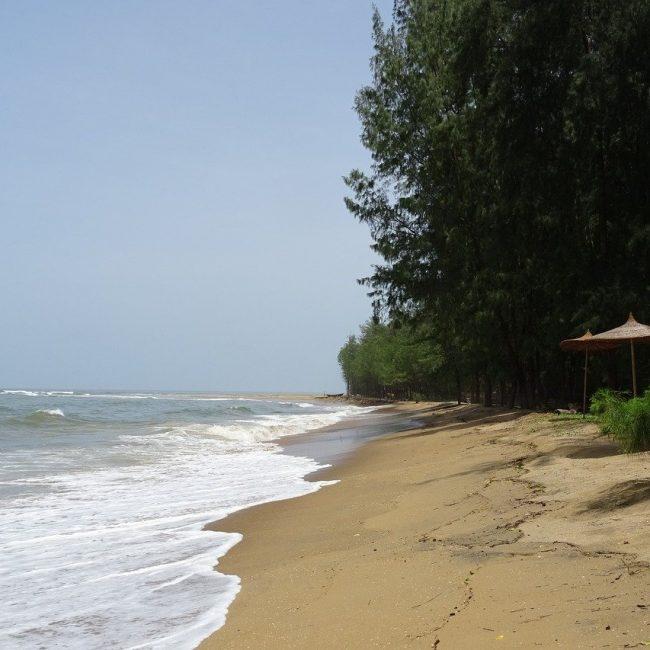 Devbagh Beach In Karwar