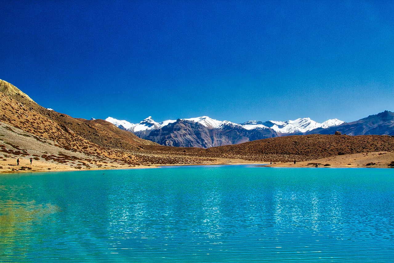 Famous Place to See In Kaza-Dhanker Lake and Dhanker Monastery