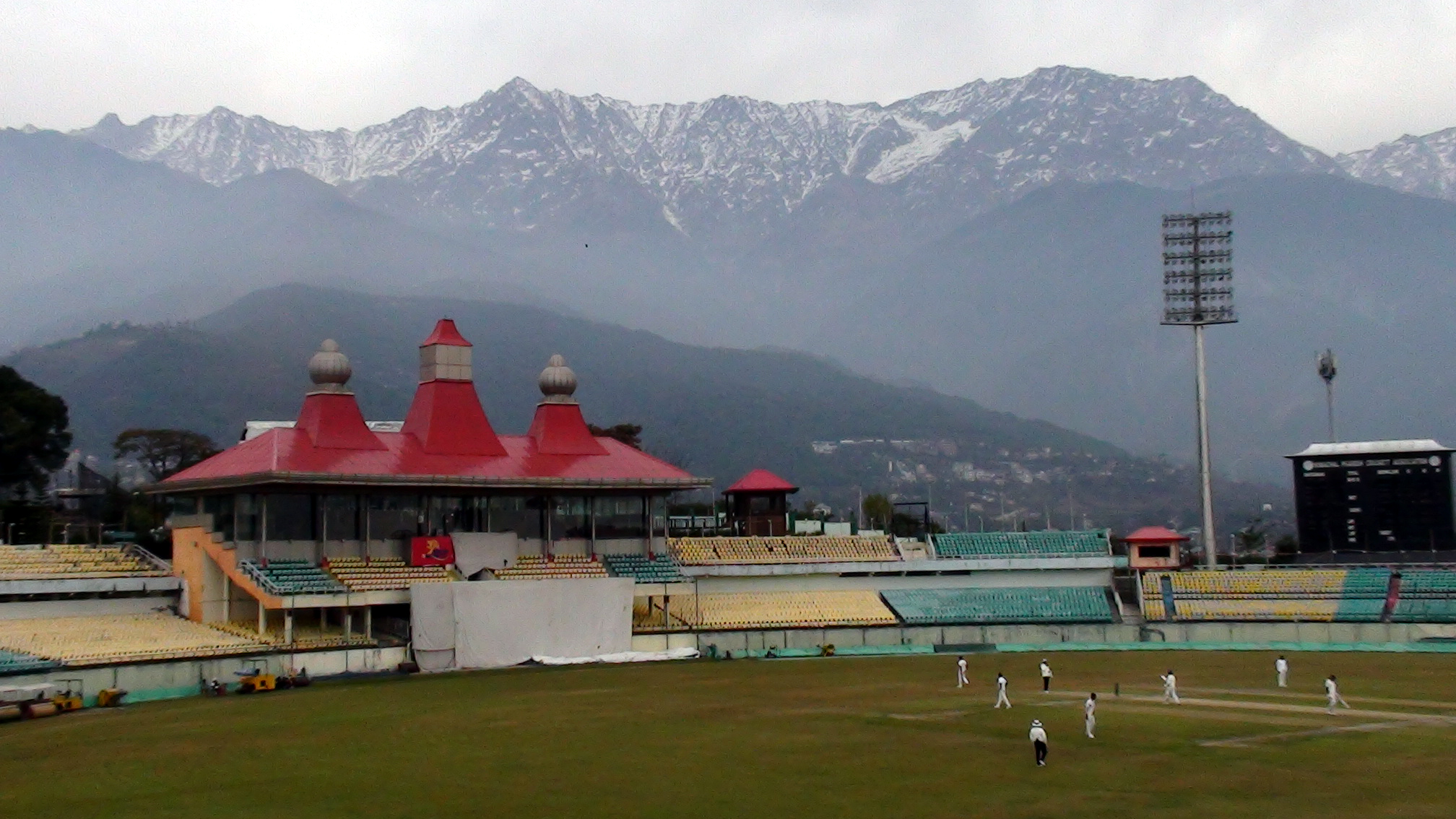 Dharamshala Cricket Stadium - Visit Place in Dharamshala and McLeodganj