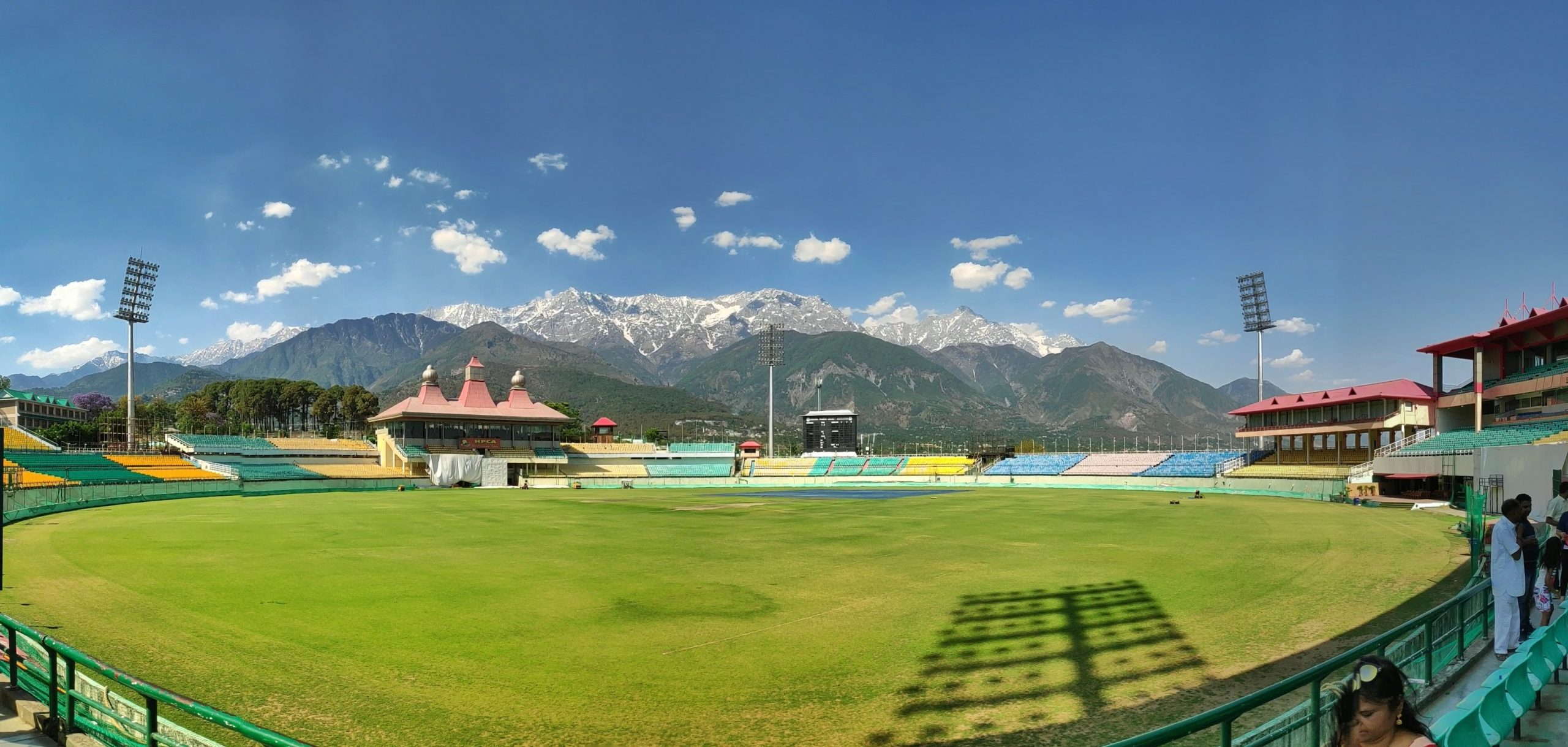 Dharamshala Cricket Stadium - Amazing Places to Visit In Dharamshala