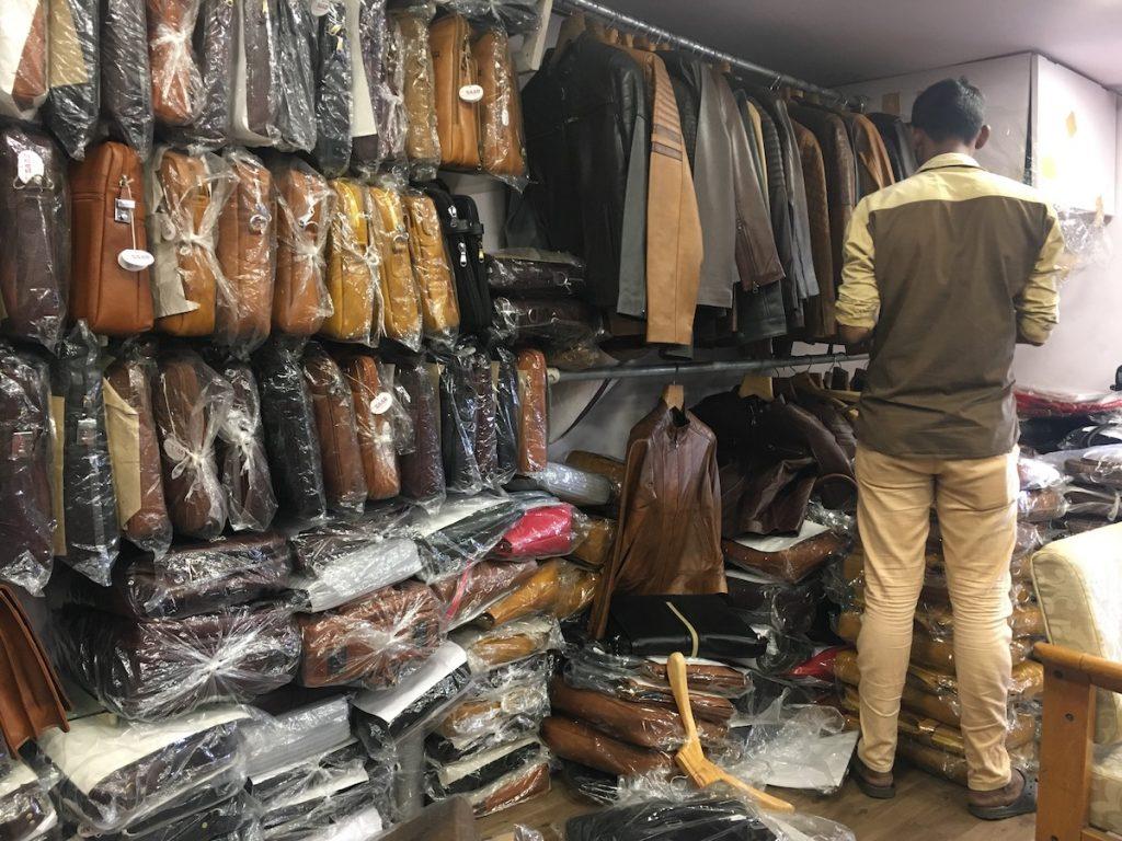 Dharavi Leather Market Shopping Place in Mumbai