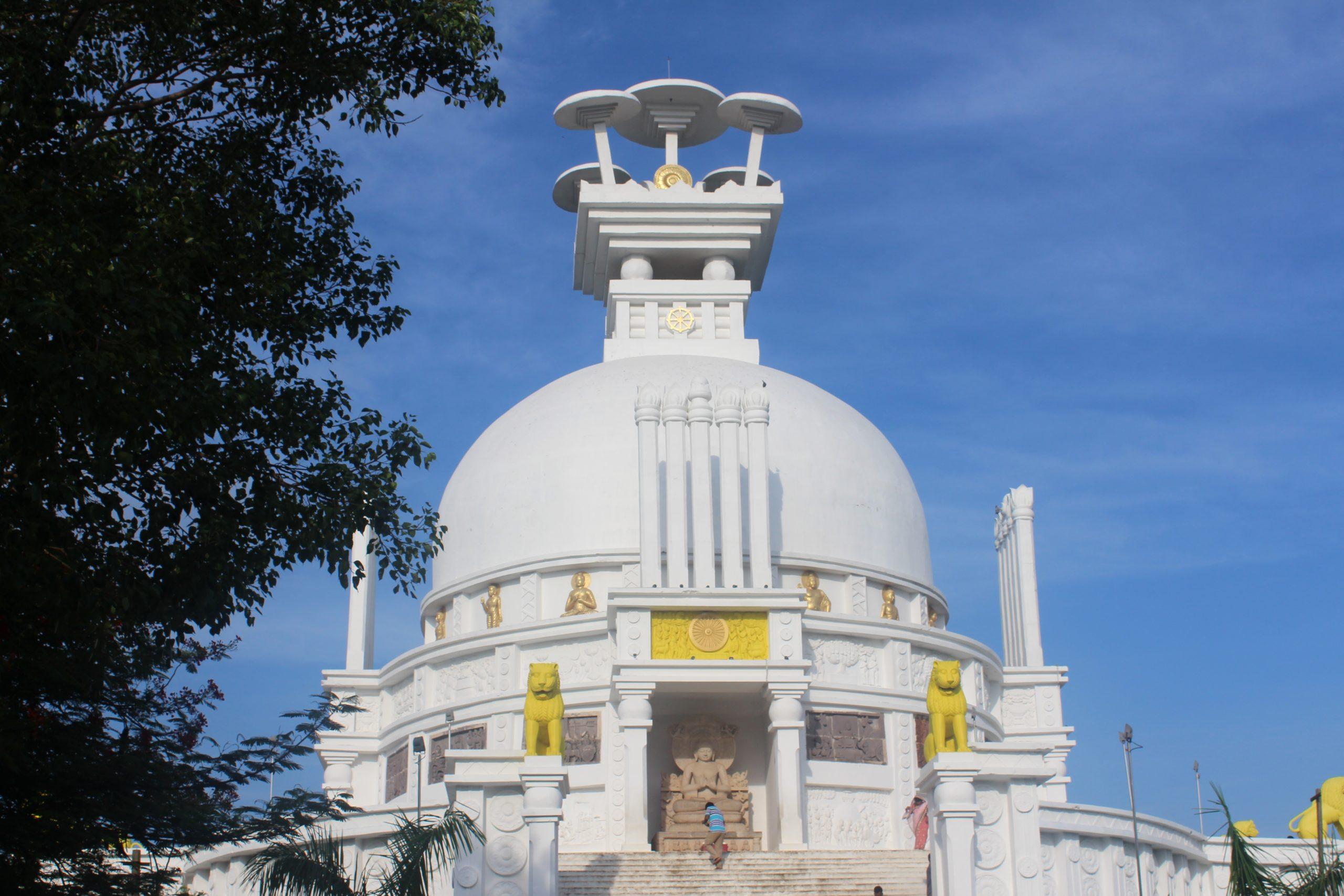 Dhaulagiri Shanti Stupa - Most Popular Place To Visit In Bhubaneswar