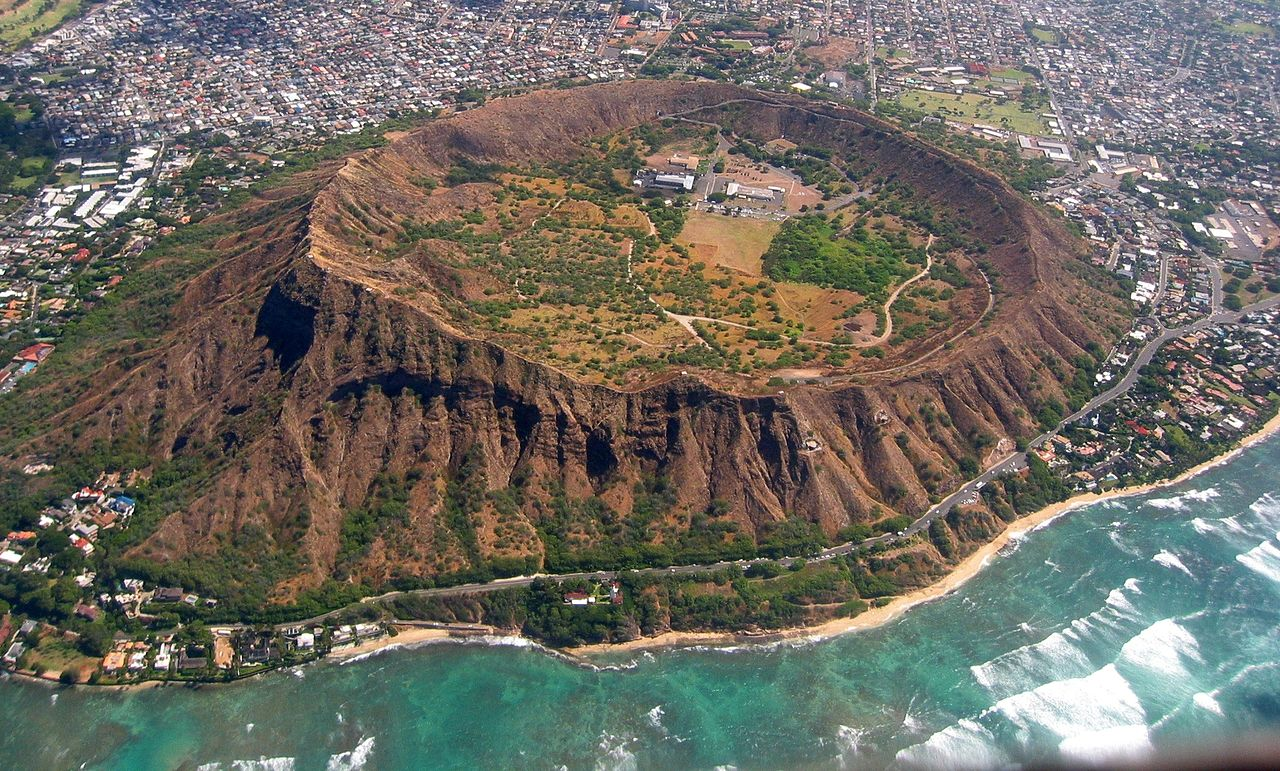 Risk-Free And Risky Location In Honolulu for Tourists-Diamond Head