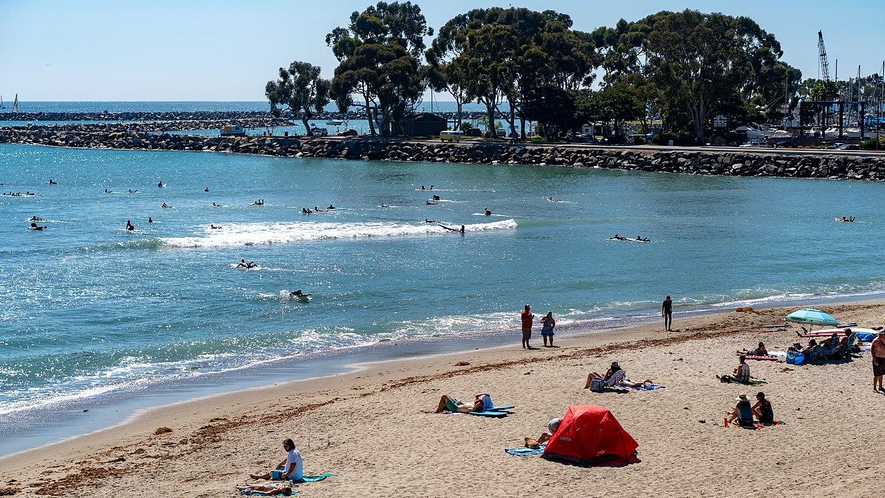 Most Popular Beach Near Disneyland and Anaheim-Doheny State Beach