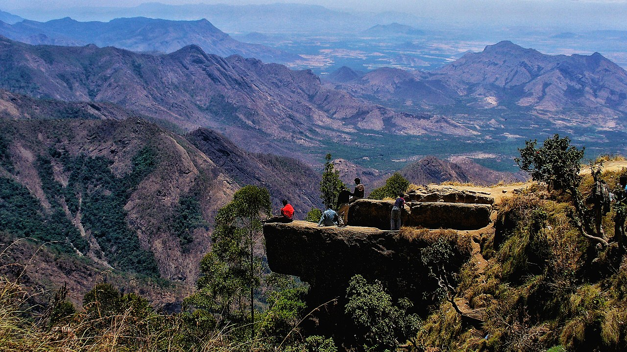Top Attraction Place In Kodaikanal-Dolphin's Nose
