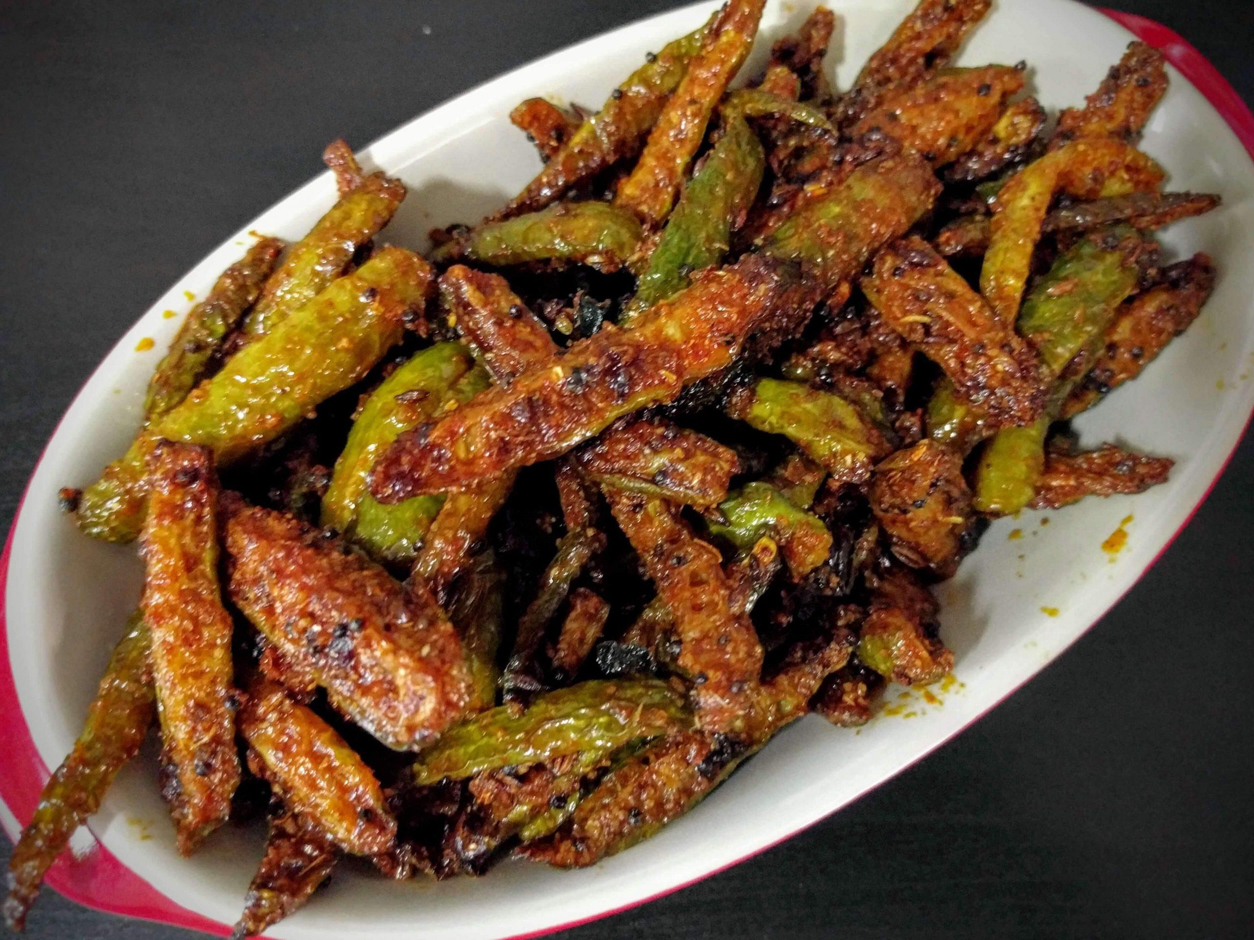 One of Best Andhra Dish Dondakaya Fry