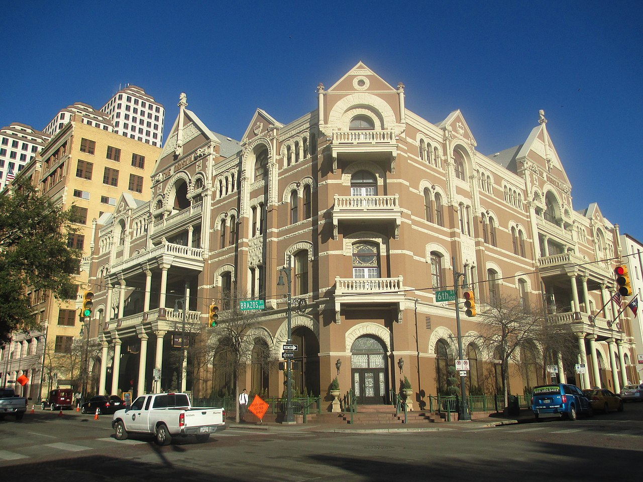 Nice Historical Sites Of Texas No One Visits-Driskill Hotel