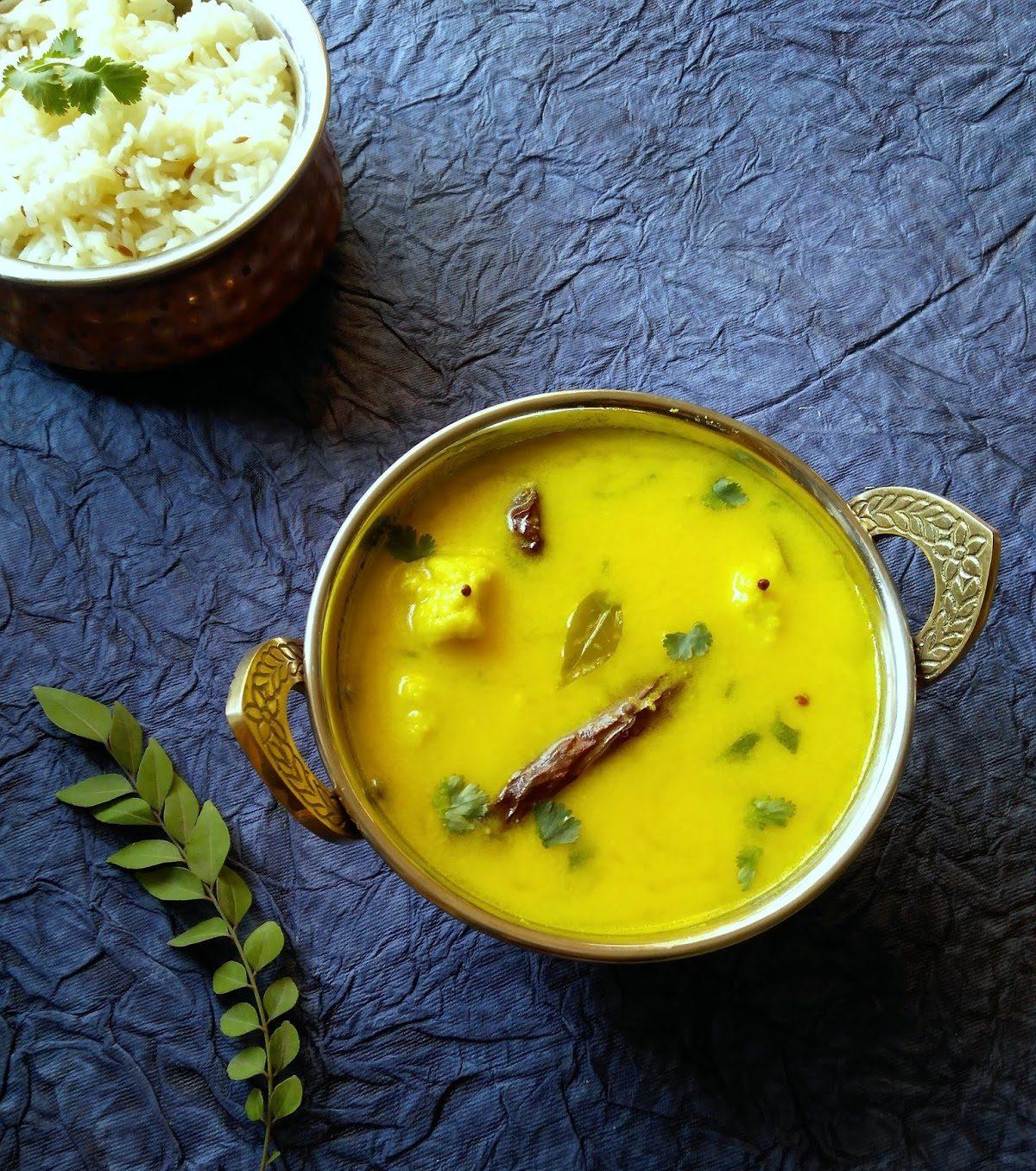 Delicious Dish Of Chhattisgarh-Dubki Kadi