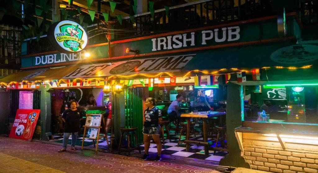 Dubliner Irish Pub in Phi Phi Nightlife Place